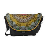 Abstract State Plates Messenger Bag