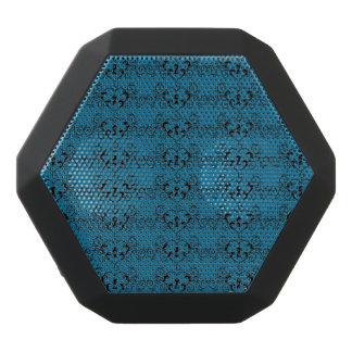 Abstract Steampunk Heart Pattern Black Bluetooth Speaker