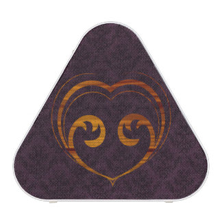 Abstract Steampunk Heart Speaker