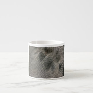 Abstract - steel coil espresso cup