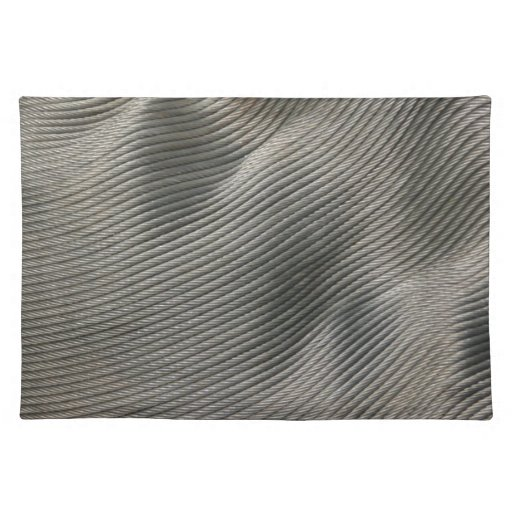 Abstract - steel coil placemat