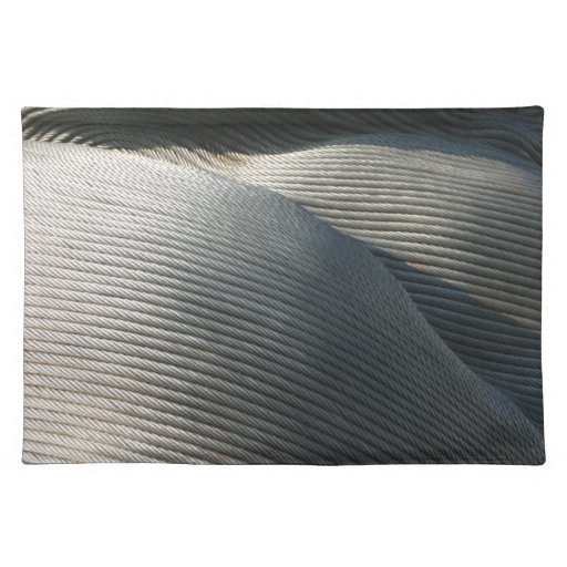 Abstract - steel coil place mat