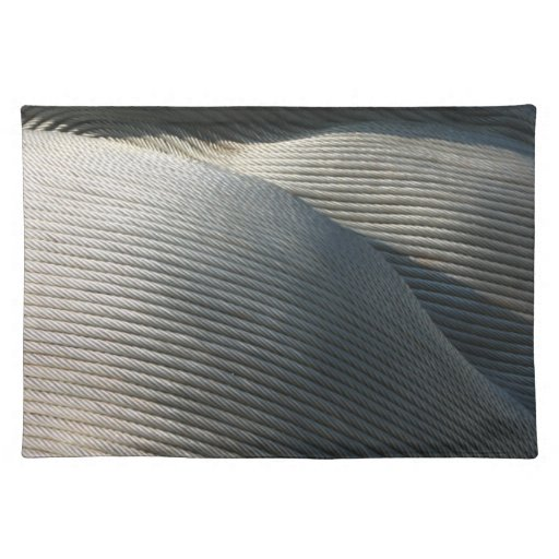 Abstract - steel coil placemats