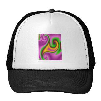 Abstract strange pattern trucker hat