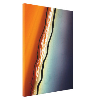 Abstract Streak of Nature Canvas Print