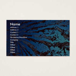 Abstract Stress Business Card