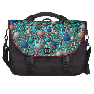 Abstract String Theory Art Commuter Laptop Bag