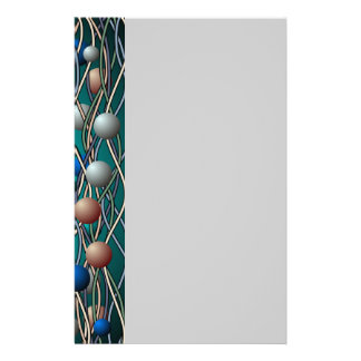 Abstract String Theory Art Stationery