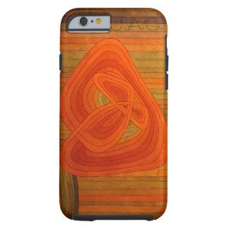Abstract Stripe Design Tough iPhone 6 Case