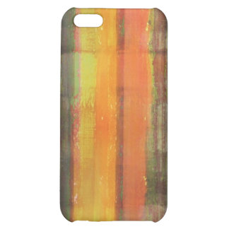 Abstract Striped Color Art iPhone 5C Cases