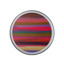 Abstract Stripes Colorful Pastel Pattern #2 Bluetooth Speaker