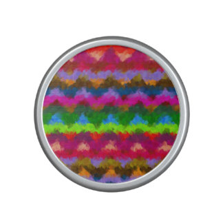 Abstract Stripes Colorful Pastel Pattern Speaker