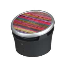 Abstract Stripes Colorful Watercolor Pattern Speaker