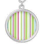 Abstract Stripes Pendant