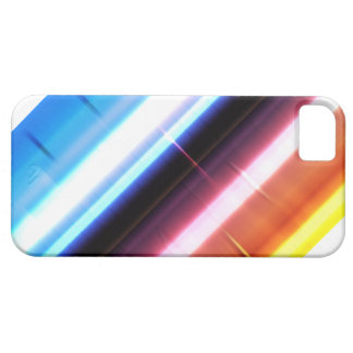 Abstract stripes rainbow crystal iPhone 5 case