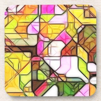 Abstract Structure 1 Beverage Coasters