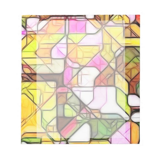Abstract Structure 1 Memo Note Pad