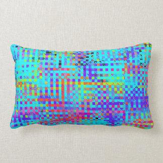 Abstract Structured Chaos Lumbar Pillow
