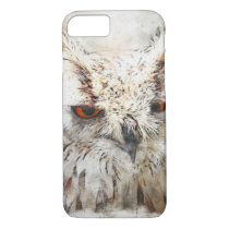 Abstract style owl Iphone 8/7 case