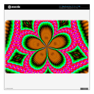 Abstract stylish colorful pattern decal for the MacBook