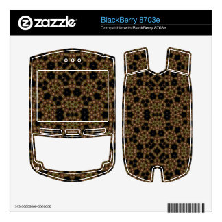 Abstract Stylish Pattern BlackBerry 8703e Decal