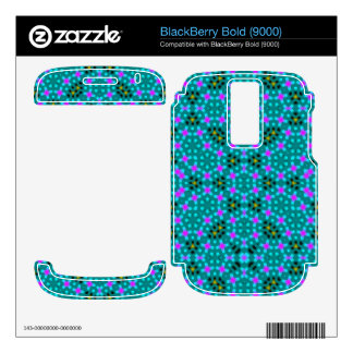 Abstract stylish pattern BlackBerry bold decals