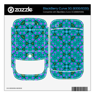 Abstract stylish pattern BlackBerry curve 3G decal