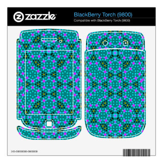 Abstract stylish pattern decal for BlackBerry