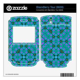 Abstract stylish pattern decal for the BlackBerry