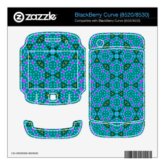 Abstract stylish pattern decals for BlackBerry