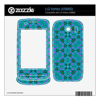 Abstract stylish pattern LG vortex decals