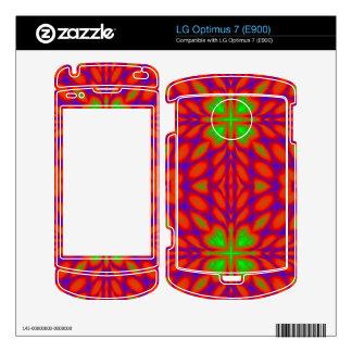 Abstract stylish pattern LG optimus 7 skins