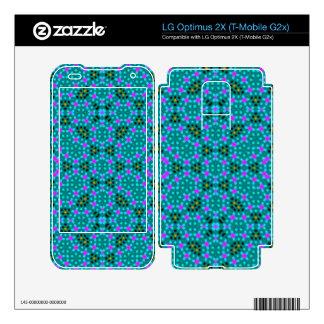 Abstract stylish pattern LG optimus 2X decal