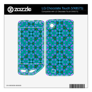 Abstract stylish pattern LG chocolate touch skins