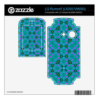 Abstract stylish pattern skins for LG rumor2