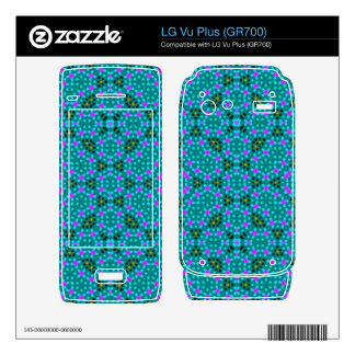Abstract stylish pattern decals for the LG vu plus
