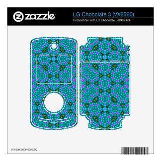 Abstract stylish pattern LG chocolate 3 skins