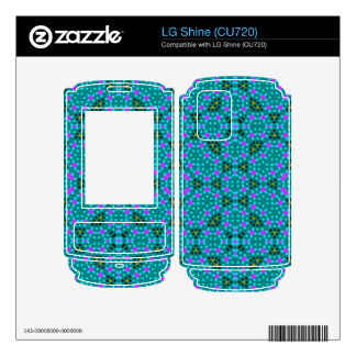 Abstract stylish pattern decal for LG shine