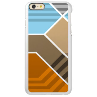 Abstract Subduction Zone Incipio Feather® Shine iPhone 6 Plus Case