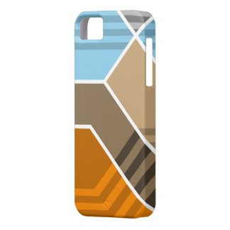 Abstract Subduction Zone iPhone 5 Cases