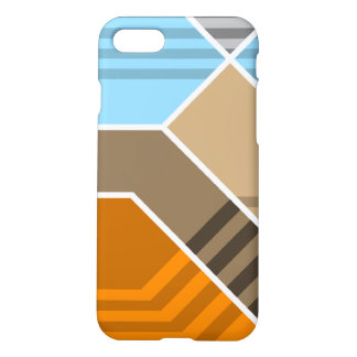 Abstract Subduction Zone iPhone 7 Case