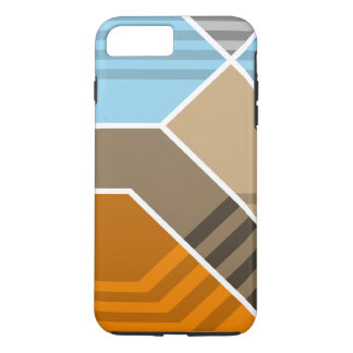 Abstract Subduction Zone iPhone 8 Plus/7 Plus Case