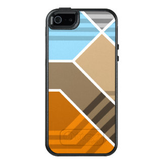 Abstract Subduction Zone OtterBox iPhone 5/5s/SE Case