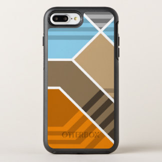 Abstract Subduction Zone OtterBox Symmetry iPhone 7 Plus Case