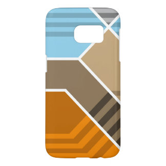 Abstract Subduction Zone Samsung Galaxy S7 Case
