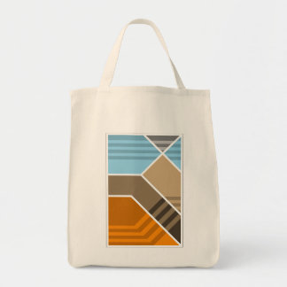 Abstract Subduction Zone Tote Bag