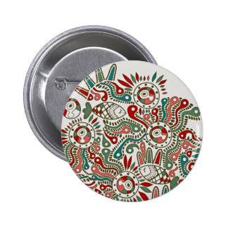 Abstract Subject 2 Inch Round Button