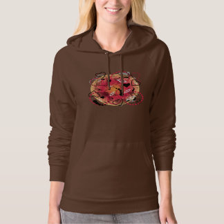 Abstract Summer Butterfly Sphere - Hoodie