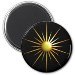 Abstract Sun Magnets