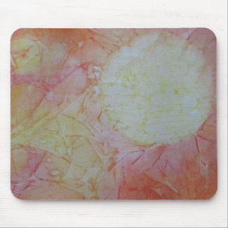 Abstract Sun Mouse Pad